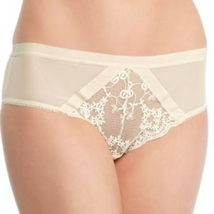 Free People Daydreamer Hipster Panty Nude Small